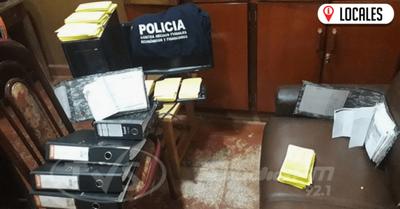 Agentes de la Policía Nacional aprendieron a dos sujetos por supuesta usura