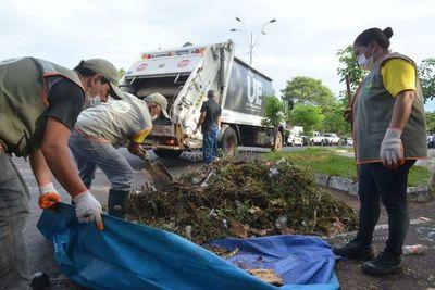 Junta Municipal de Asunción declara emergencia ambiental y sanitaria
