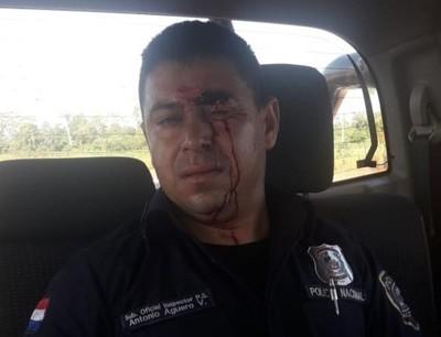 Reportan incidentes durante desalojo en Caaguazú