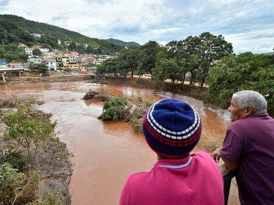 Belo Horizonte amanece bajo agua tras lluvias que dejan 53 muertos