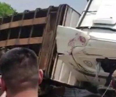 Accidente deja varios docentes muertos en San Pedro