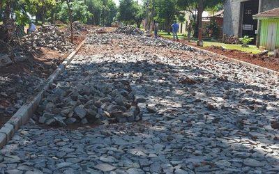 Prosiguen obras de las paralelas en Yguazú