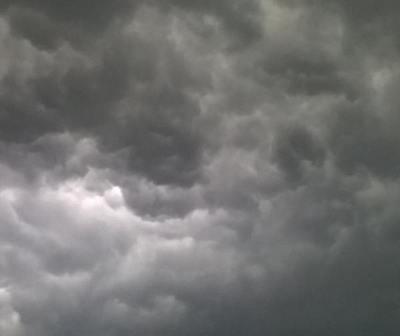 ¡Alerta de tormentas!