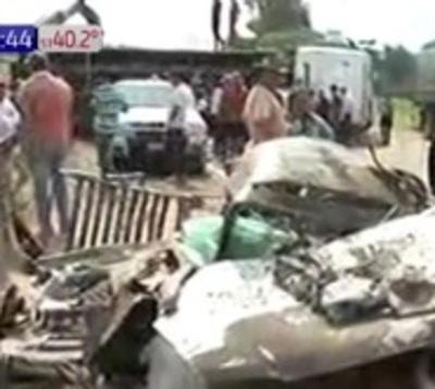 Confirman cuatro fallecidos tras accidente en Yrybucuá