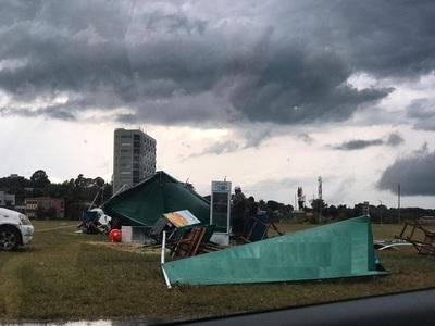 Itapúa: ANDE continúa con trabajos de reposición de energía tras fuerte tormenta