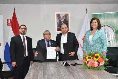 Concepción: INC firma convenio con la UNC