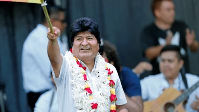 Evo Morales prepara su candidatura para senador o diputado