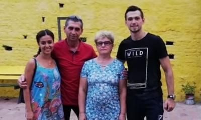 Suegros Ucranianos de Crucerito de visita en Paraguay