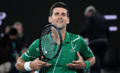 HOY / Novak Djokovic vence a Federer y va por el título y el número 1 en el ranking de ATP