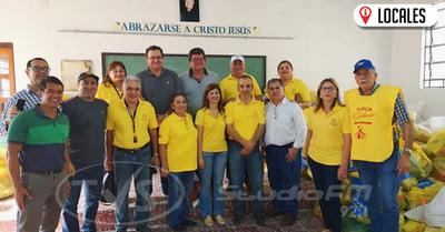 Rotary Club Encarnación celebra 80 años de servicio y en busca del bien común