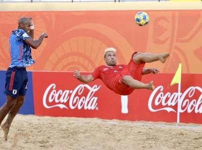 Beach Soccer World Cup 2019: salto con destino a la próxima fase