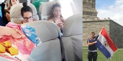 INSÓLITO: PARAGUAYO CAUSA FUROR COMO VENDEDOR AMBULANTE «AÉREO»