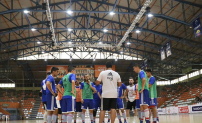 HOY / La Albirroja de Futsal ya está en la sede de las eliminatorias