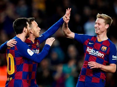 Barcelona se instala en cuartos de Copa del Rey