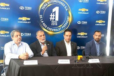 Automotores es el  número uno en ventas de la red Chevrolet en Paraguay