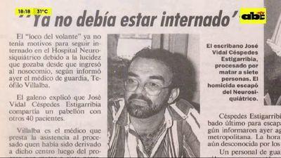 """""""El loco del volante"""", 27 años de la tragedia en Acahay"""