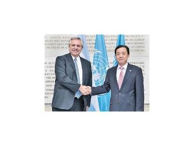 Fernández confirmó acuerdo con la FAO para ayuda técnica