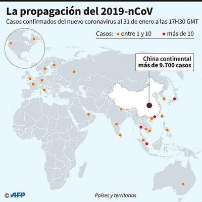 China, cada vez más aislada por coronavirus