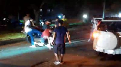 Hasta ahora no hay imputados en el caso de los motoqueiros que casi matan a automovilista