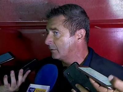 Marcelo Philipp celebra el triunfo ante General Díaz