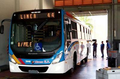 Más buses diferenciales circularán en Asunción