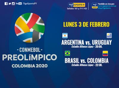 Arranca el cuadrangular del Preolímpico Sudamericano