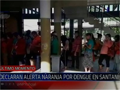 Alerta naranja por masivos casos de dengue en San Estanislao