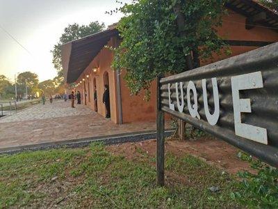Inauguran puesta en valor de estación de Ferrocarril de Luque