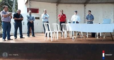 SOCIALIZAN PROYECTO DE ADECUACIÓN DE LA RUTA PY06, TRAMO CRUCE SANTA CLARA – NATALIO