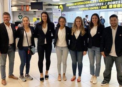Paraguayas aguardan en Chile su estreno en la Fed Cup 2020