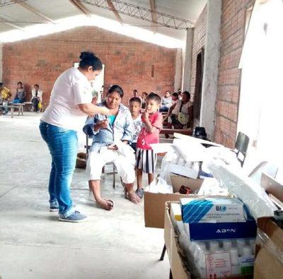Salud Pública asistió a comunidades indígenas del Chaco