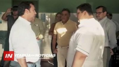 PRESIDENTE DE IPS VISITÓ HOSPITAL DE CNEL. BOGADO