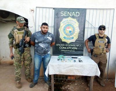 Concepción: Detienen a joven con drogas