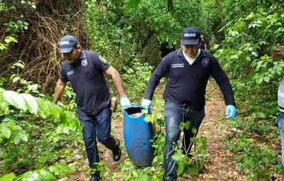 Tambor hallado en Arroyito no contiene los restos de Edelio Morínigo