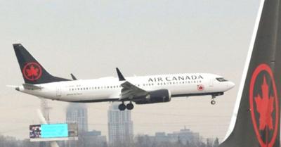 Avión aterrizó con éxito tras cinco horas de vuelo