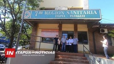 GESTIONAN MEJORAS PARA EL HOSPITAL DISTRITAL DE SAN PEDRO DEL PARANÁ