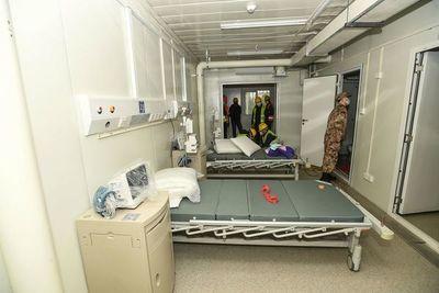 Hospital de Wuham, construido en tiempo récord, recibe a primeros pacientes