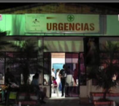 Llamas causan susto en el Hospital Materno infantil de Loma Pytã
