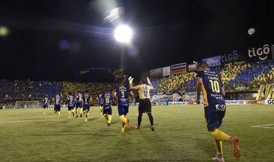 Luqueño y su quinta Sudamericana