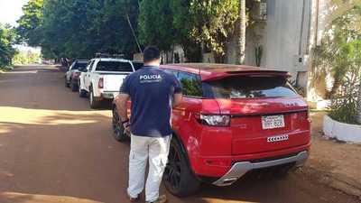 Incautan lujosa camioneta clonada que estaba en poder del hijo de político colorado en Santa Rita