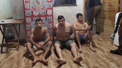 Detienen a peligroso líder de grupo criminal de Brasil en Capitán Bado