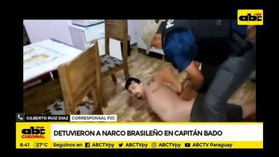 Detuvieron a narco brasileño en Capitán Bado