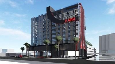 La compañía de videojuegos Atari, inaugurará una cadena de hoteles temáticos