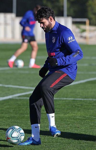 Diego Costa se entrena más de dos meses después