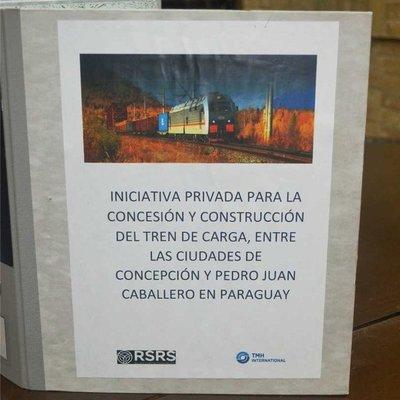 Fepasa recibe propuesta para tren de cargas entre Concepción y Pedro Juan Caballero