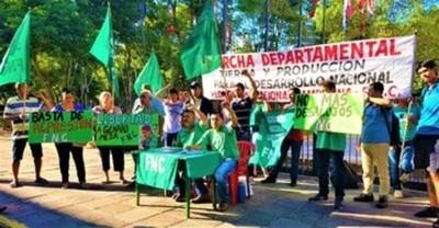 FNC reclamará solución al problema de la tierra en marchas departamentales