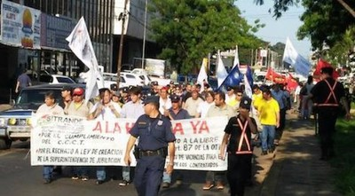 Nueva marcha campesina con mismos reclamos de todos los años