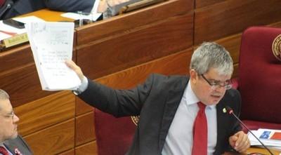Financiamiento político: Riera afirma que diputados colorados cometieron un grave error