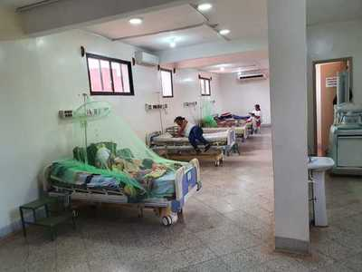 Hospitales se llenan de internados
