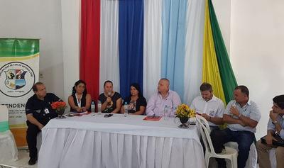 Organismos trabajan en la optimización de los servicios en el paso fronterizo de Carlos Antonio López